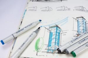 Feng Shui calculaties voorafgaand aan de bouw van een multifunctionele ruimte