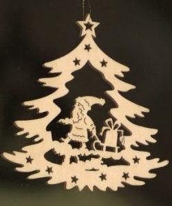 Houten kersthanger voor als de Flying Stars om HOUT vragen - Feng shui Lifestyle