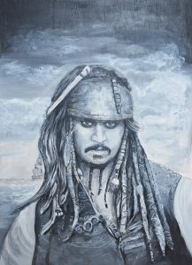 Jack Sparrow, pirate of the Carabean