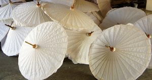 papieren paraplu
