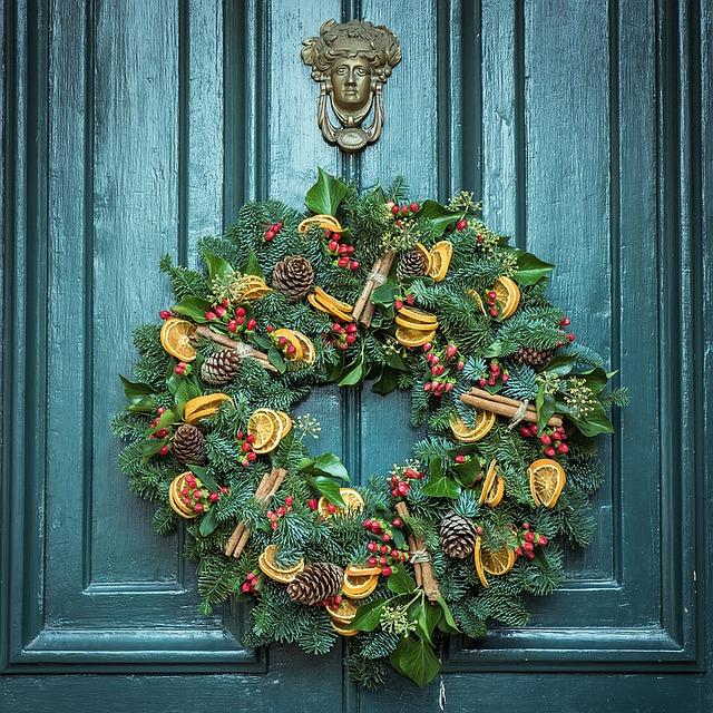 deurkrans december
