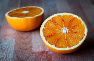 Fruit de licht verteerbare voeding