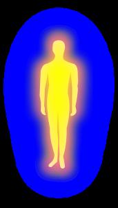 Ook het aura dient regelmatig energetisch geschoond te worden
