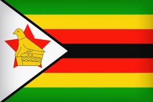 vlag Zimbabwe - vraag om geboortetijd werd door hospitaal niet beantwoord