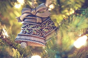 kerstklokjes als onderdeel van de Feng Shui Lifestyle in de Chinese Decembermaand