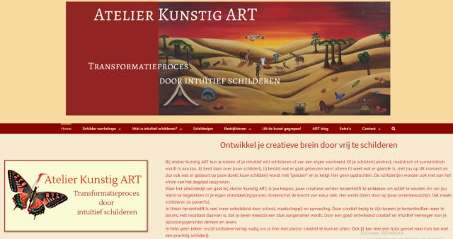 De nieuwe website met Feng Shui als leidraad; van persoonlijke kleuren tot vormen en klemtonen.