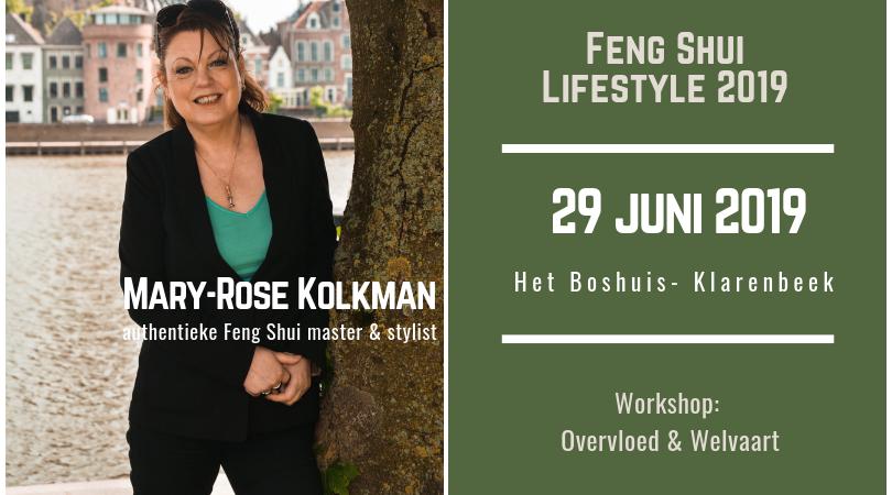 Promotie Feng Shui Lifestyle 29 juni 2019